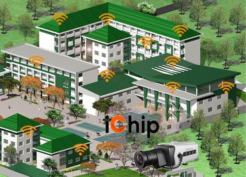 Lắp đặt wifi cho trường học