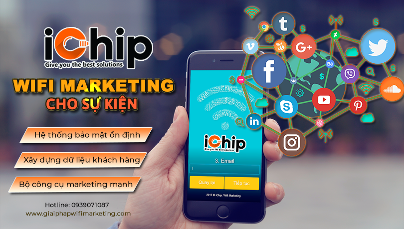 wifi marketing sự kiện